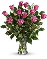 Passionate Purple! Premium Ecuadorian Purple Roses Roses