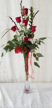 Premium Half Dozen Rose Arrangement Half dozen Rose Arrangement