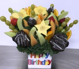 Premium Happy Birthday Bouquet  Please give us 24 hrs notice. in Springfield, IL | FLOWERS BY MARY LOU INC
