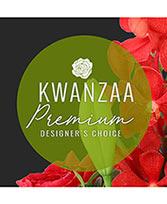 Premium Kwanzaa Flowers Designer's Choice