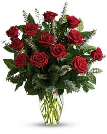 FOREVER MINE~ Dozen Premium Ecuadorian Red Roses