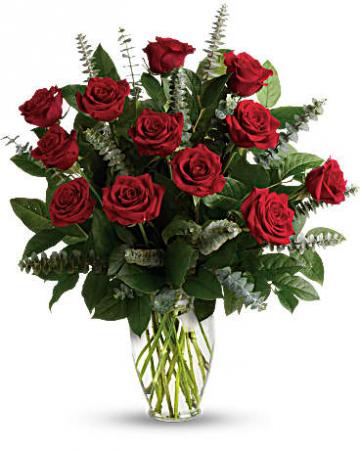 FOREVER MINE!!!  1 Dozen Long Stem Ecuadorian Red Roses