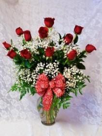 Premium Long Stemmed Red Roses Best Seller