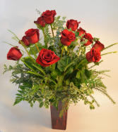 Premium Love Dozen Red Roses