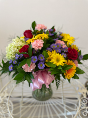 Premium Mixed Vase Flower in Gander, NL   Loretta's Flower World