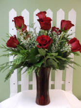 PREMIUM RED ROSE  ARRANGEMENT