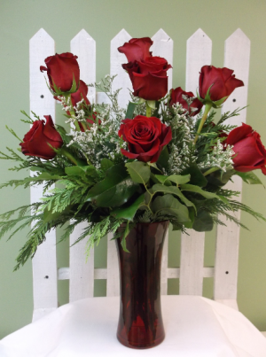 PREMIUM RED ROSE  ARRANGEMENT in Springfield, VT | WOODBURY FLORIST