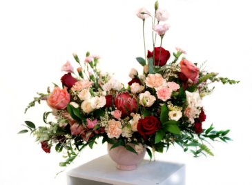 Premium Romantic Designer's Choice Custom Arrangement