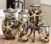 Premium Sea Shell Candles Oil Candles