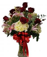 Premium Valetines Special Mixed Vase Valentines Day Special