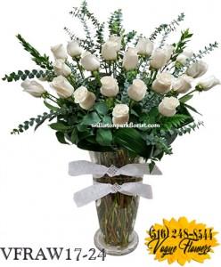 PREMIUM WHITE  ROSES  Floral Arrangement