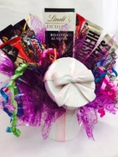PRESENT her with a Candy Dish Candy Bouquet