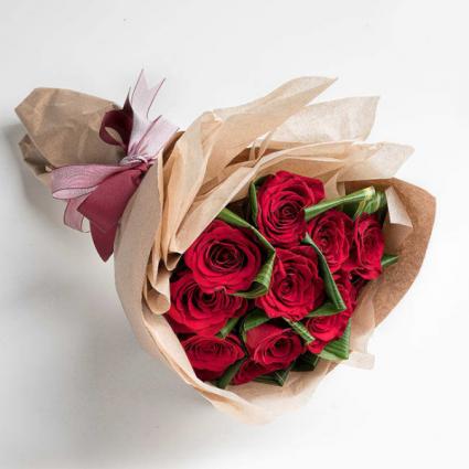 Presentation Bouquet - Red