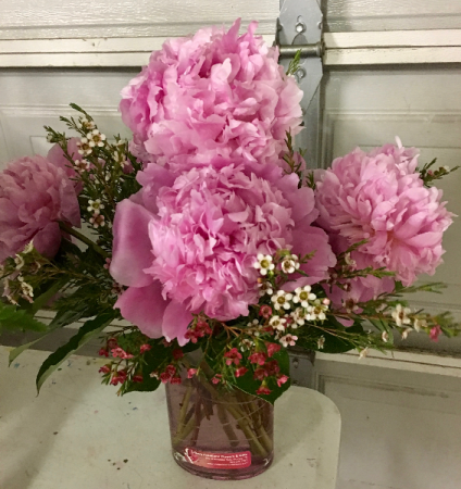 Prettiest peonies in forney tx kims creations flowers gifts and prettiest peonies mightylinksfo