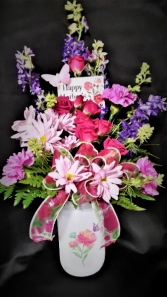Pretty and Bright vase arrangement