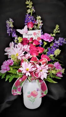 Pretty and Bright vase arrangement