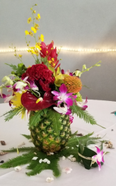 Pretty as a Pineapple  Wedding Floral Arrangements