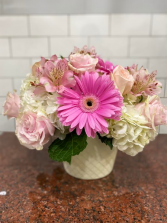 Pretty in Gerbera  Flower Arrangement