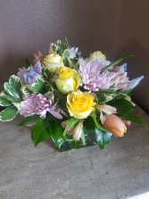 Pretty In  Pastels  Fresh arrangement