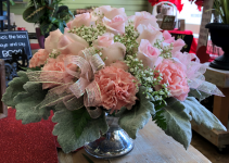 Pretty in Pink Mercury Vase
