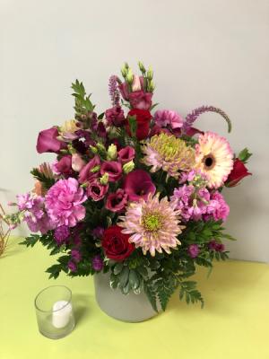 Pretty in Pink Arrangement in Weymouth, MA | DIERSCH FLOWERS