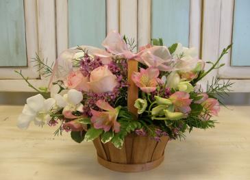 Pretty in Pink  Basket Design