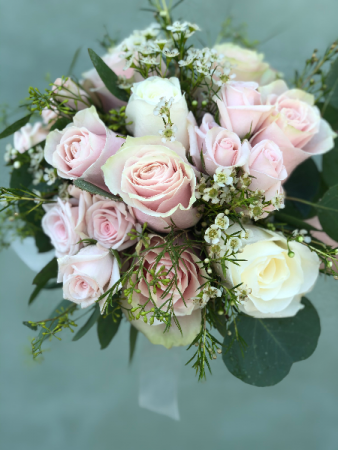 Pretty In Pink Bridal Bouquet Wedding Flowers