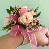 Pretty in Pink Corsage