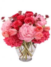 Pretty in Pink Floral Arrangement