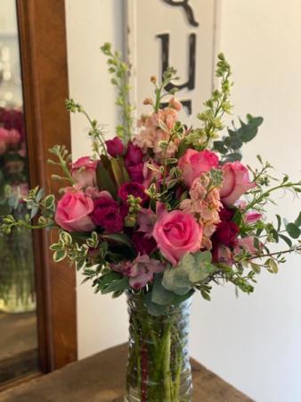 Pretty In Pink Floral Design