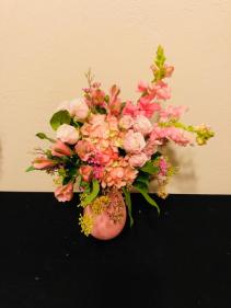 Pretty in Pink Keepsake Arrangement