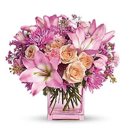 Pretty in Pink Mixed Floral