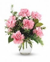 Pretty in Pink Mixed Flowers