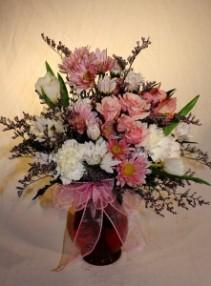 Pretty in Pink Vase