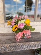 Pretty In Pink Vase in Godley, Texas | Roselane Flowers & Gifts