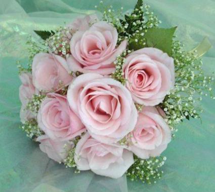 Pretty in Pink Wedding Bouquet