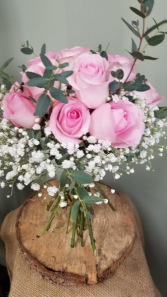 Pretty in Pinks Bride's Bouquet