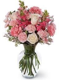 Pretty in Pinks Vase