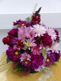 Pretty in Purple Basket