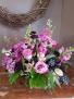 Pretty in purple Fresh arrangement