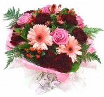 Pretty Lady Hand Tie Bouquet