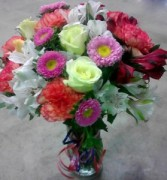 Pretty mix with carnations, MO-108 Fresh floral