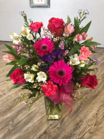 Pretty N Pink  Vase