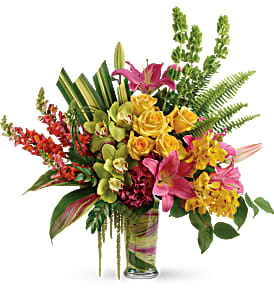 Pretty Paradise Bouquet in Coral Springs, FL   DARBY'S FLORIST