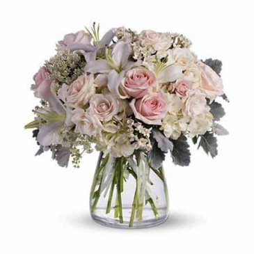 Vase Arrangement   Vase Arrangement  Pink Roses are very limited  may have to substitute another color