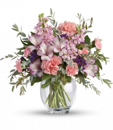 Pretty Pastel Bouquet Vase
