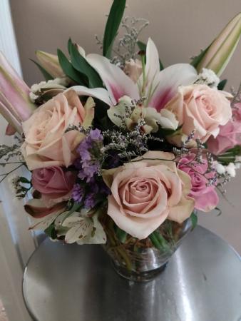 Pretty Pastels Vase