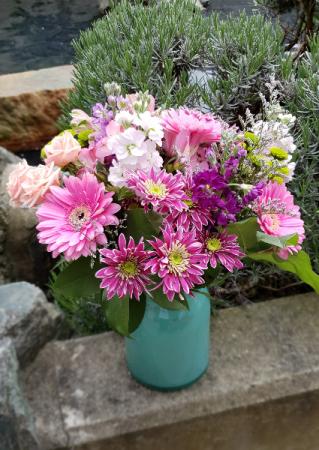 Pretty Pastels Vase Arrangement