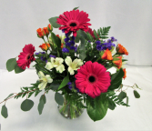 PRETTY PETAL PARTY FRESH FLOWERS VASED