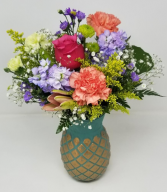 Pretty Pineapple Mother's Day Arrangement